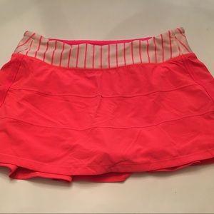 Lululemon Athletica skirt.